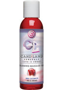 Candiland Sensuals Flavored Warming...