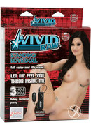 Vivid Raw Standing Love Vibrating Doll - Vanilla