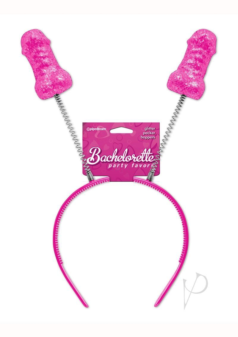 Bachelorette Party Glitter Pecker Boppers Red
