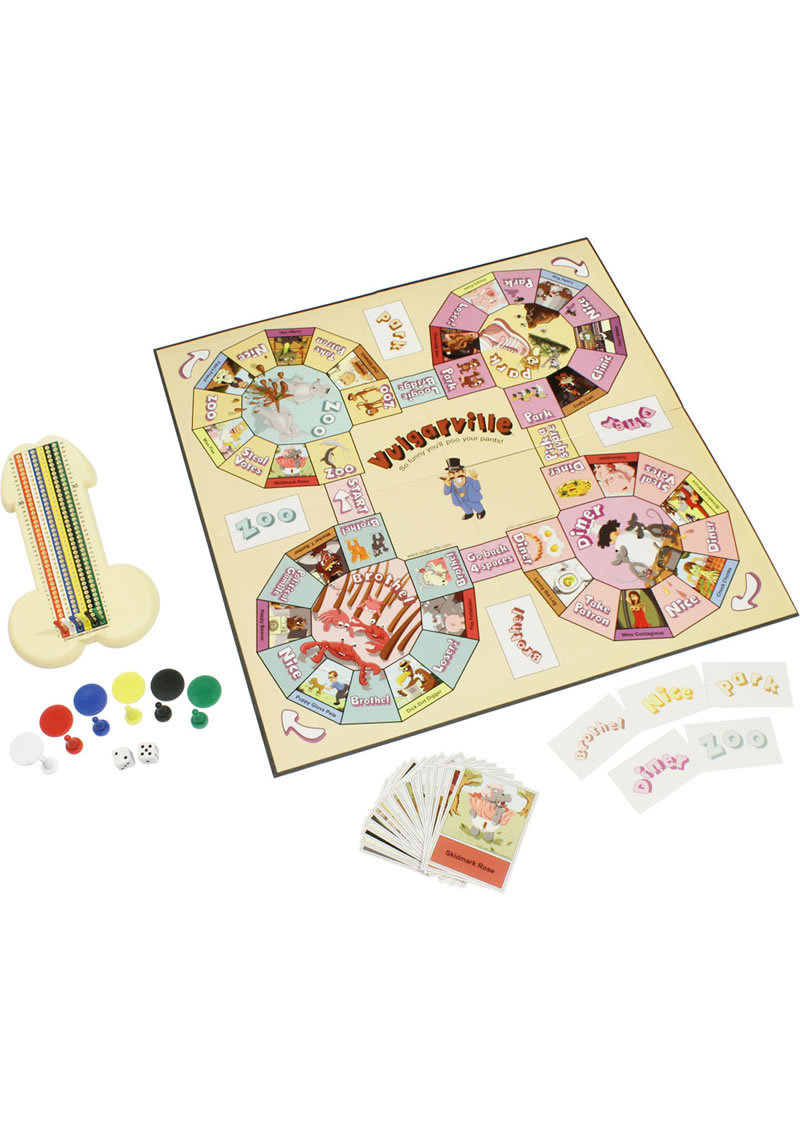 Vulgarville Adult Board Game